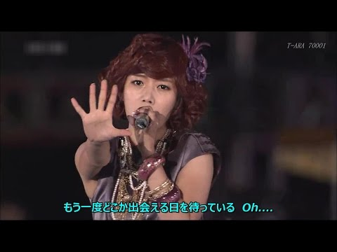 T - ARA T. T. L 「Time To Love」Japanese Ver (Live compilation) 日本語歌詞