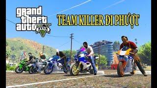 GTA 5 Mod - Team Sát Nhân Killer Đi Phượt Xe Moto Tiền Tỷ