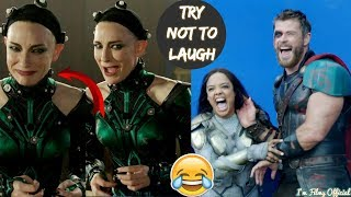 Thor: Ragnarok Hilarious Bloopers and Gag Reel - Full Outtakes 2018