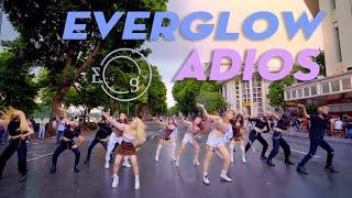 [KPOP IN PUBLIC CHALLENGE] EVERGLOW (에버글로우) - Adios | 베트남 커버댄스 | Dance cover by C.A.C from Vietnam