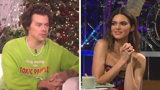 Watch Harry Styles' AWKWARD Reaction to Being Asked About Ex Kendall Jenner