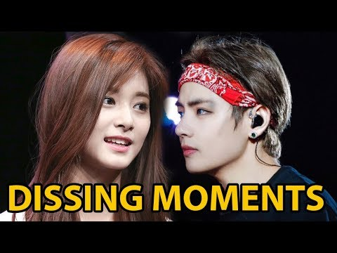 Kpop Idols Being Savage/Dissing Moments