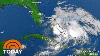 Hurricane Isaias Slams Bahamas, Takes Aim At Florida Coast   TODAY