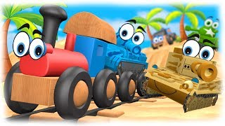 CARTOON FOR CHILDREN Tropical Vacation