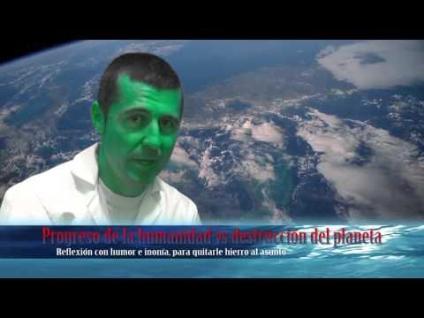 Progreso de la humanidad vs destrucción del planeta
