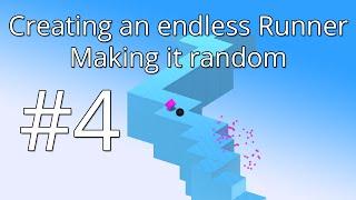 4. Unity 5 tutorial: Simple Endless Runner - Making it random