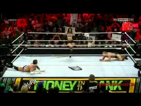 WWE Money In The Bank 2012 Highlights
