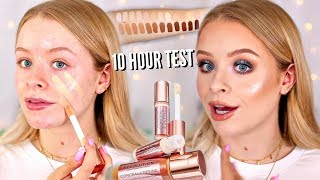 TESTING NEW REVOLUTION CONCEAL & DEFINE FOUNDATION!! | sophdoesnails