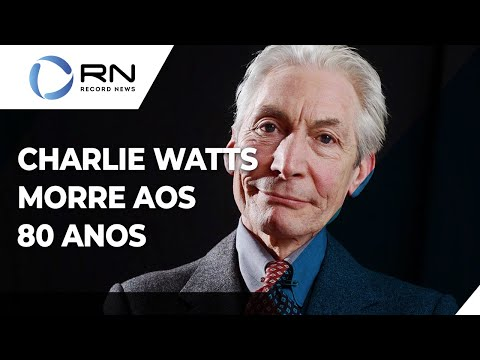 Baterista do Rolling Stones, Charlie Watts morre aos 80 anos