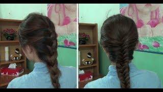 Hairstyles - Cách Tết Tóc Đẹp Kiểu Đuôi Sam Và Xương Cá | Yêu Làm Đẹp