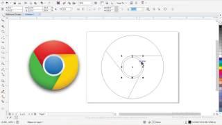 How To Make Logo In Corel Draw || Corel Draw Adidas Logo