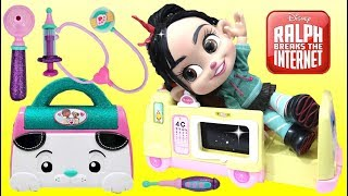 Baby Vanellope RALPH BREAKS THE INTERNET Visits Doc McStuffins Toy Hospital