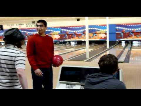 First time bowling fail.
