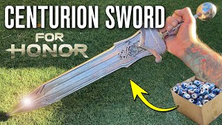 Casting A HUGE Centurion Sword From SODA CANS - FOR HONOR Sword Making