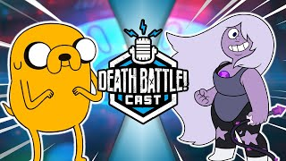 Jake VS Amethyst w/ Zoe Terhune | DEATH BATTLE Cast #224