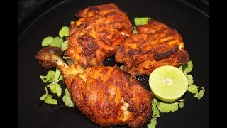 How To Make Grilled Chicken in Microwave Oven at Home   Hindi