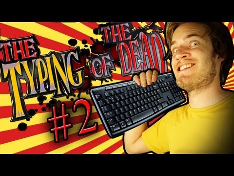GREATEST VOICE-ACTING IN ANY VIDEO GAME EVER - The Typing Of The Dead - Part 2 - Smashpipe Games