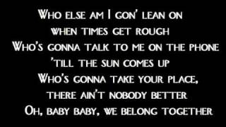 Mariah Carey - We belong together (Lyrics)