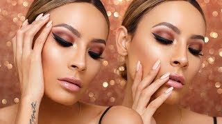 MAKEUPSHAYLA MAYBELLINE COLLECTION AFFORDABLE MAKEUP TUTORIAL | DESI PERKINS