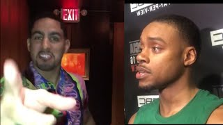 DANNY GARCIA BERATES ERROL SPENCE AND SEES SOMETHING TOO