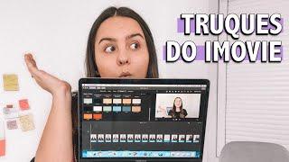 EDIÇÃO DE VÍDEO NO IMOVIE   Como Editar Vídeos Para O YouTube No iMovie