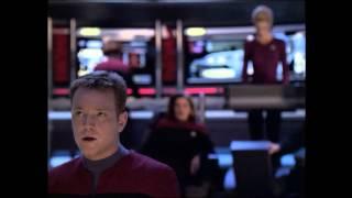 Star Trek Voyager - Battle with Borg Sphere