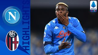 Napoli 3-1 Bologna | Insigne bags brace & Osimhen scores on return from injury! | Serie A TIM