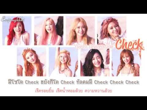 [THAISUB] Girls' Generation (소녀시대) - Check