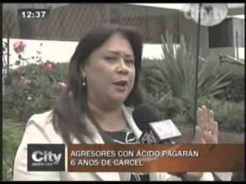 Thumbnail for Ley que castiga ataques con ácidos ya es una realidad.