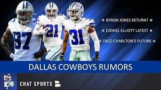 Cowboys Rumors: Byron Jones Return, Ezekiel Elliott Latest, Donovan Wilson & Taco Charlton's Future?