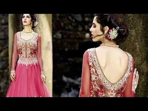 Anarkali Suits: Latest Designer Floor Length Anarkali Gown style Dresses Beautiful Designs of 2018