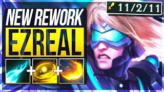 EZREAL REWORK IS ACTUALLY SO BUSTED! Ezreal Rework ADC Gameplay | League of Legends