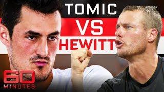 Bernard Tomic slams Lleyton Hewitt in explosive interview | 60 Minutes Australia