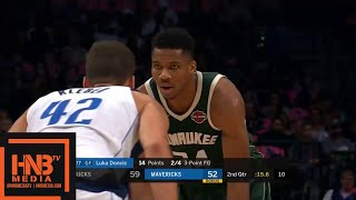 Dallas Mavericks vs Milwaukee Bucks - Full Game Highlights | October 11, 2019 NBA Preseason
