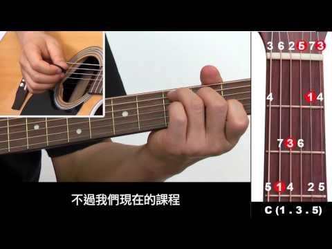 吉他入門免費教學7:C大三和弦