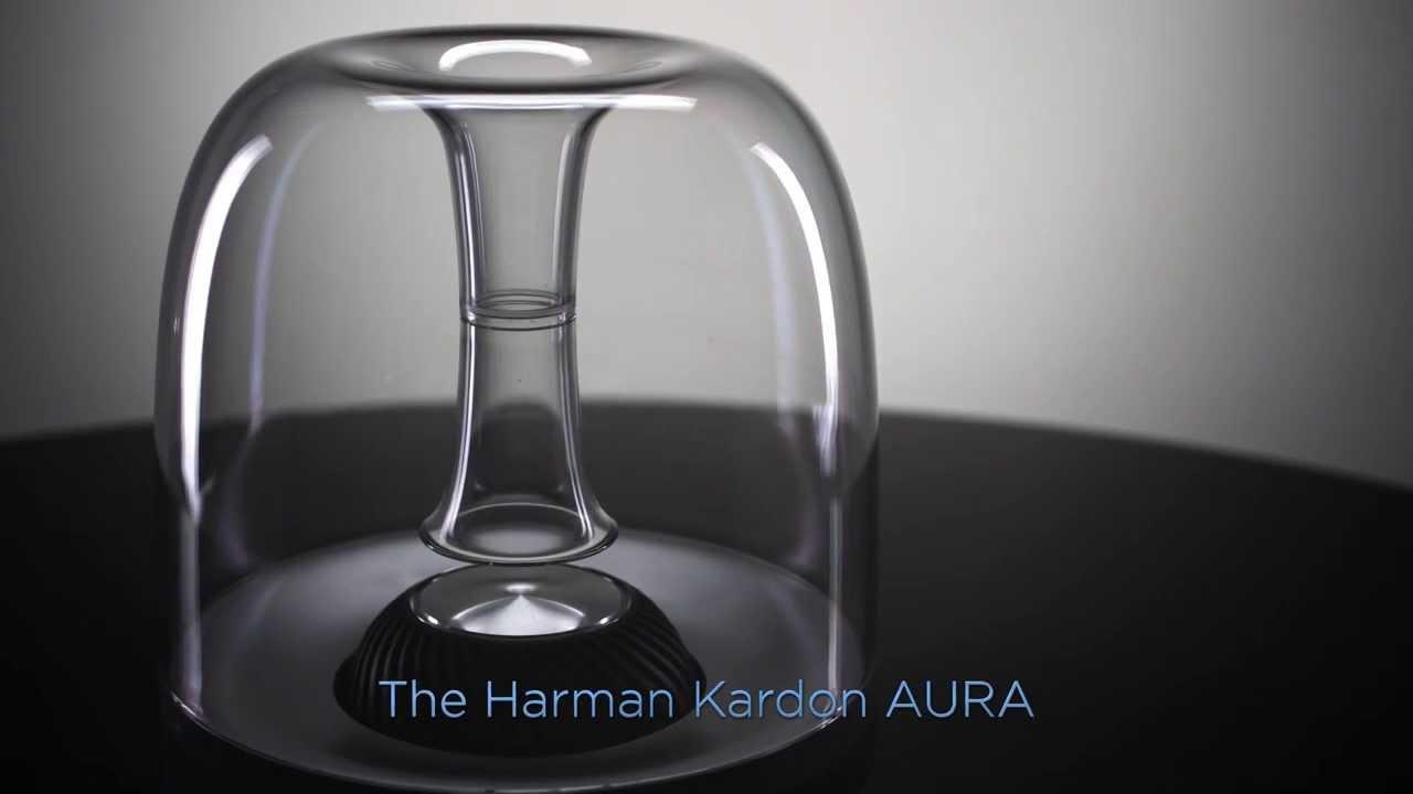 the harman kardon aura wireless speaker system youtube. Black Bedroom Furniture Sets. Home Design Ideas