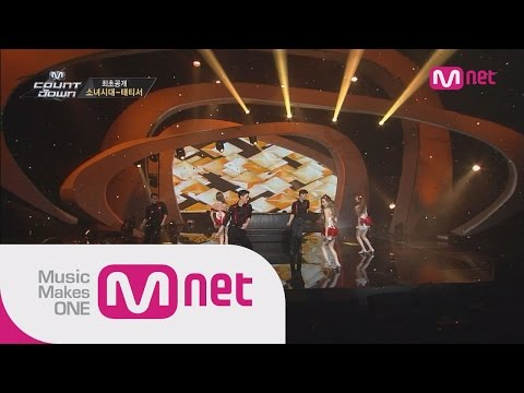 Mnet [M COUNTDOWN] Ep.394 : 태티서(Girl's Generation-TTS) - Adrenaline+Intro+Holler @MCOUNTDOWN_140918