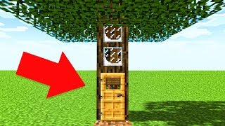 WORLD'S BIGGEST MINECRAFT TREEHOUSE! (Minecraft Funny Moments)