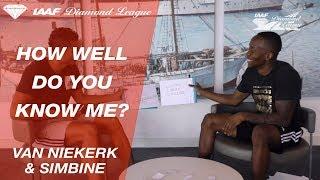 "Wayde Van Niekerk and Akani Simbine play ""How Well Do You Know Me?"" -  Episode 3"