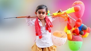 छोटू के गुब्बारे | CHOTU KE BALLOONS | Khandesh Hindi Comedy | Chotu Comedy Video