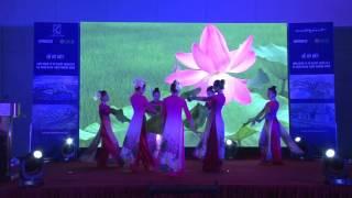 vũ đoàn emmy múa  mênh mang hương sen việt