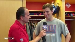 Eli Manning on new head coach Pat Shurmur