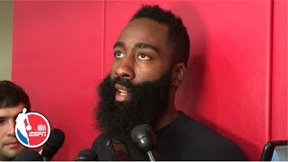 It's 'very important to me' to be remembered as one of the greats - James Harden | 2019 NBA Playoffs