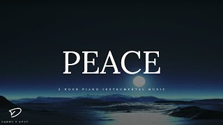 PEACE - 3 Hour Peaceful & Relaxing Piano Music | Meditation Music | Prayer Music | Alone With HIM