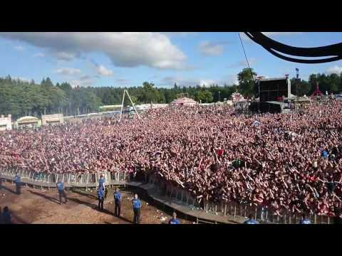 The Courteeners from stage not 19 forever t in the park