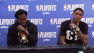 Patrick Beverley & Lou WIlliams Postgame Interview - Game 6 | Warriors vs Clippers | 2019 Playoffs