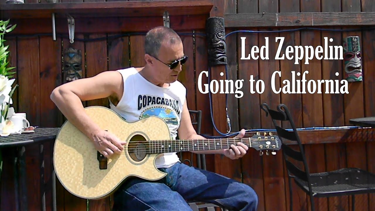 led zeppelin going to california in standard tuning acoustic cover youtube. Black Bedroom Furniture Sets. Home Design Ideas
