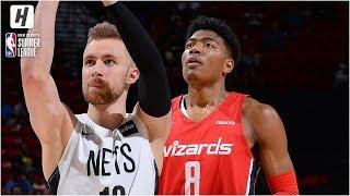Washington Wizards vs Brooklyn Nets - Full Game Highlights   July 8, 2019 NBA Summer League