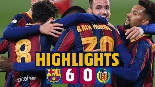 HIGHLIGHTS | Barça B 6-0 L'Hospitalet | YOUNG GUNS ON FIRE 🔥🔵🔴