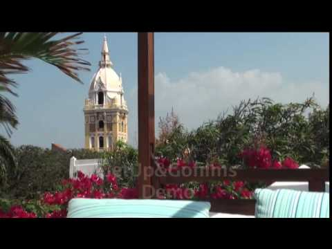 Colombia Boutique Hotels - Cartagena de Indias. Video: Get Up & Go Films